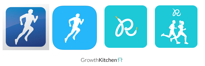 runkeeper icon evolution